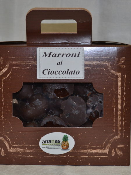 marroni glassati al cioccolato