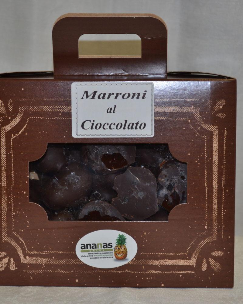 marroni glassati al cioccolato
